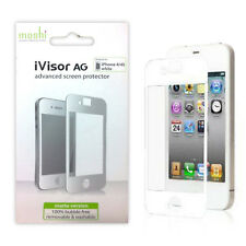 Moshi iVisor AG Advanced Anti Glare Screen Protector for iPhone 4/4s - White