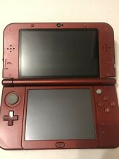 New Nintendo 3DS XL Red - Very good condition, barely used, all components incl.