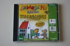 JANOSCH KLEINE TIGERSCHULE- LESEN UND RECHNEN LERNEN, PC SPIEL! 1998!