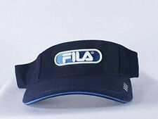 VINTAGE FILA BLUE SUN VISOR 90'S HIP HOP Adjustable HAT NEW CAP BY FILA
