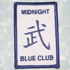 "Midnight Blue Club Patch - Martial Arts - Oklahoma - Kansas - 2"" x 3"""