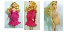 Barbie Educational Real pregnant doll suits mom doll have a baby in her tummy