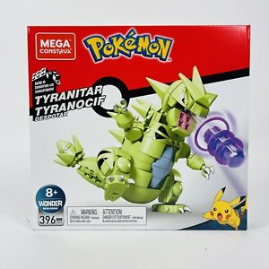 Mega Construx: Pokemon-TYRANITAR. 396 Pieces. Brand New. Factory Sealed.