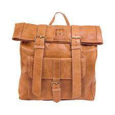 Lederrucksack BINOAR Echtleder Damen Fairtrade Rucksack Herren aus Leder fair