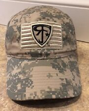 RJF Red Jacket Firearms Desert Camo Digital Camouflage Flag Tactical Twill Cap