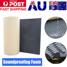 Sound Proof Proofing Wave Acoustic Audio Stop Insulation Absorbing Foam Adhesive