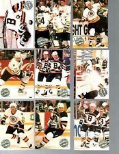 1991-92 Pro Set Platinum Boston Bruins Team Set 17 Cards NM