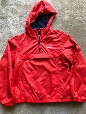Boys Pullover Windbreaker From Oshkosh, Size 10, Red