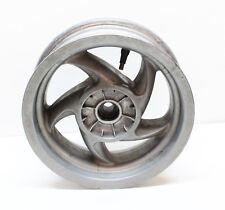 Jante Argent roue arrière Grimeca 3.5 x 10 pouces pour Piaggio TPH Tempête 50ccm