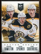 2012-13 Limited Redemption 2 Spooner Soderberg Dougie Hamilton Rookie 416/499