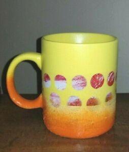 Large Yellow Coffee Mug 20 oz/Yellow Latte Mug Large