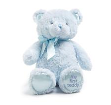 Baby Gund My First Teddy Stuffed Bear Blue 2305