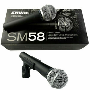 Sh ure SM58S Vocal Dynamic Microphone Mic With On Off Switch