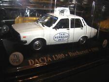 1/43 Dacia 1300 TAXI Bucharest Romania 1980 ( Renault 12 ) Die Cast