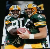 BRETT FAVRE & DONALD DRIVER AUTOGRAPHED SIGNED GREEN BAY PACKERS 16x20 PHOTO JSA