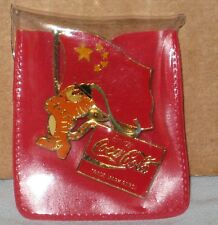 1988 SEOUL OLYMPIC MASCOT HODORI PEOPLE'S REPUBLIC CHINA PARTICIPATION COCA COLA