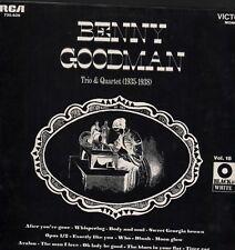 Trio And Quartet Volume 1 (1935-1938) Benny Goodman Mono   HL6.337