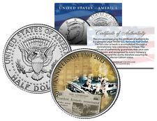 PRESIDENT KENNEDY ASSASSINATION 50th Anniversary JFK Half Dollar U.S. Coin