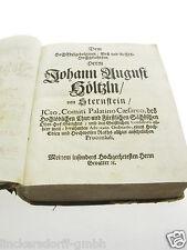 HISTORIA GERMANIAE POLEMICA - ADAM v GLAFEY -KERN DER DEUTSCHEN REICHSGESCHICHTE