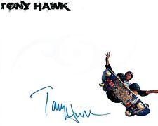 Tony HAWK The Birdman Signed Autograph 10x8 Skateboard Photo AFTAL COA