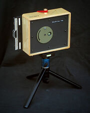 Karlos 109. 4x5 pinhole camera with 50mm focal length.