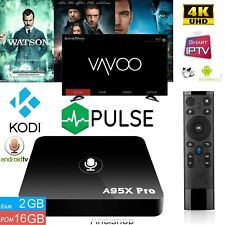 A95X PRO Android TV BOX Vavoo | Kodi | Filme&Serien | 4K | 4 Core 2+ 16 GB