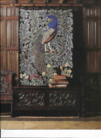 Peacock Beth Russell William Morris Tapestry Needlepoint Chart in Colour