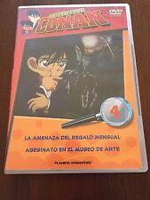 DETECTIVE CONAN DVD 4 - 1 DVD - 2 CAPS - 50 MIN - JONU MEDIA PLANETA DEAGOSTINI