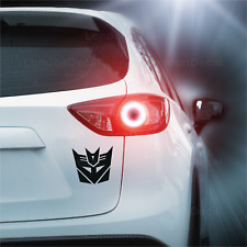 TRANSFORMERS DECEPTICON LOGO - Car Window Bumper Vinyl Decal Sticker