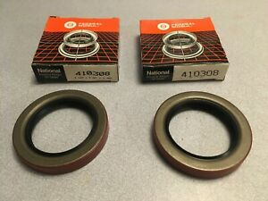 PAIR: National 410308 Transfer Case Output Shaft Seal New Process 201 Ford C5