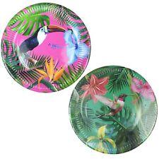 Summer Hawaiian Tropical Bright Theme Beach BBQ Party Paper Tableware Plates