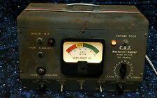 Vintage Rare Cathode Peaker Restorer Tester Allen Joseph Co C.R.T. 45-104 Manual
