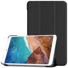 Tasche Für Xiaomi Mi Pad Mipad 4 8 Zoll Tablet Synthetisches Leder Case Schwarz