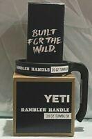 BRAND NEW AUTHENTIC YETI 20 oz Tumbler RAMBLER HANDLE