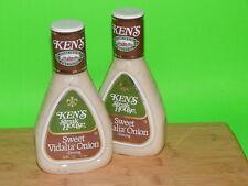 New Ken's Steakhouse Sweet Vidalia Onion Salad Dressing Dip 16 oz JUN x2 Lot