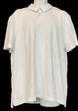 James Perse Polo Top White Cotton S Sleeve Size 3