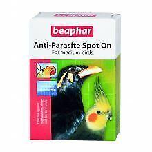 Beaphar Anti-Parasite Spot-on for Medium Birds - med - 384326
