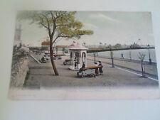 Vintage Postcard WESTERN ESPLANADE SOUTHAMPTON FGO Stuart Franked+Stamped 1905