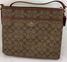 New Coach F34938 F58297 File Bag Messenger Crossbody/Shoulder Bag Purse Handbag