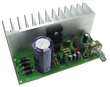 Regulator Power Supply Module AC-DC 0-50V 3A LM723 and 2SC5200 [Unassembled kit]