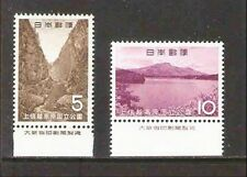 P113 Japan in 1965, the second national park: the Joshinetsu MNH