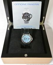 Limited Edition Panerai OP6625 7/600 Rare Blue Dial Luminor Marina Box Booklet