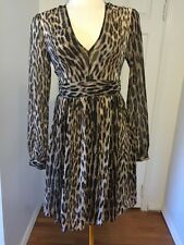 NWT Michael Kors Leopard Print Mini Dress Size 4 MSRP $165