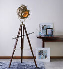 VINTAGE DESIGNERS LAMP SPOTLIGHT SEARCHLIGHT WITH TRIPOD STAND ROYAL DECORATIVE