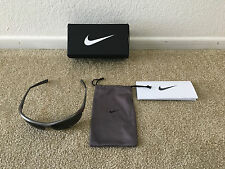Women's Silver Nike Tailwind Sport EVO491 Sunglasses Max Optics Lens w/Tags Box