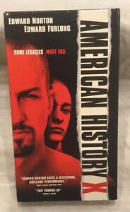 American History X VHS, excellent condition