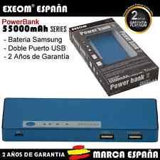 PowerBank para teléfono móvil tablet 5500mah Batería Externa Power Bank