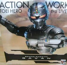 Used Megahouse ACTION WORKS Toei Hero The Live Space Sheriff Gavan PRE-PAINTED