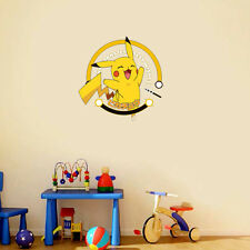 Pokemon Go Pikachu Wall Stickers DIY Decals Children's Bedroom Playroom Decor