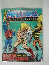 He-Man MOTU mini comic He-Man and the Insect People 1983